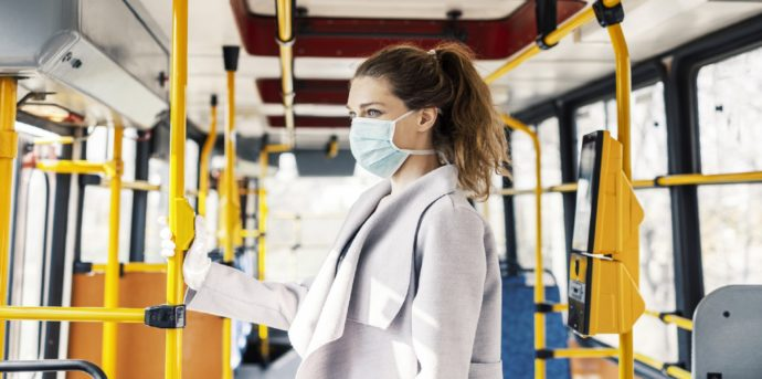 Virus protection in public transportation